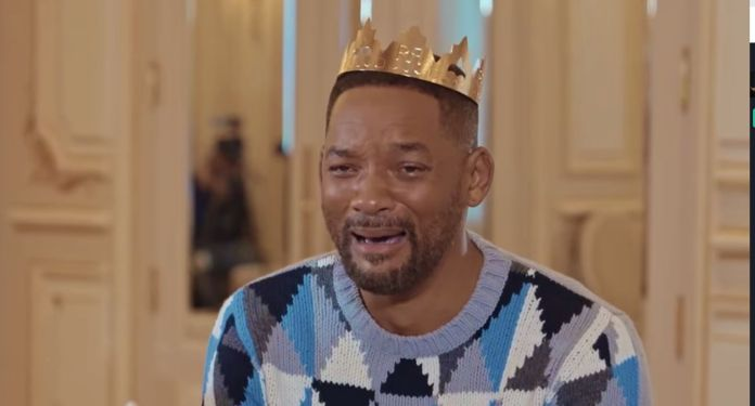 Will Smith ate galette des rois with YouTubers Mcfly &