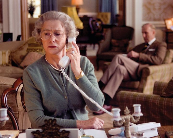 "Helen Mirren in ""The Queen."""