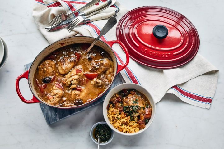 Le Creuset Dutch ovens range in size, but on average cost around $350.