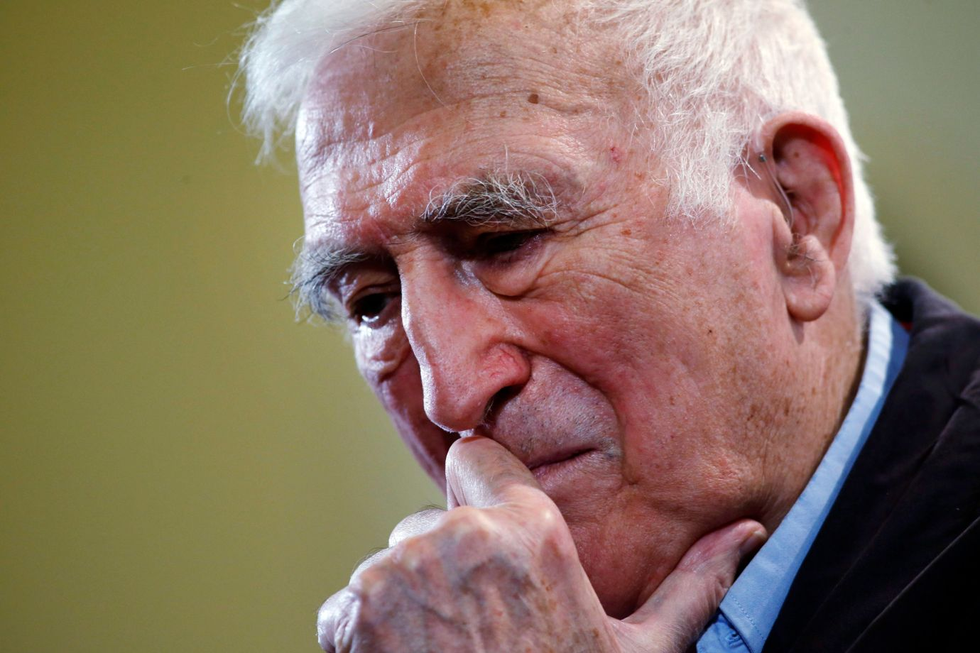 Jean Vanier, the founder of L'ARCHE on March 11, 2015.