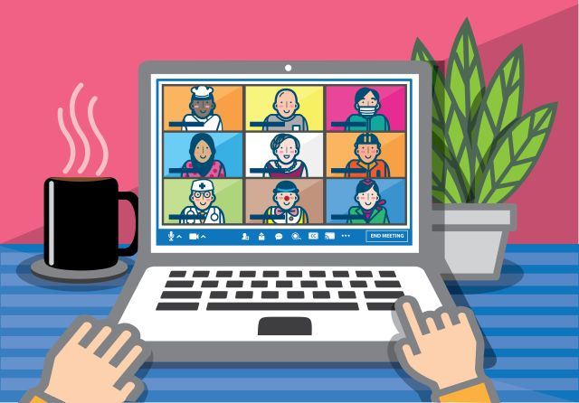 Many people are repurposing business-oriented video conferencing apps to create a sense of togetherness with their families for the holidays.