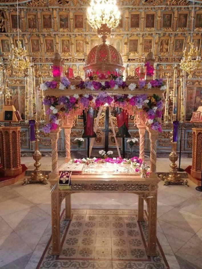 Επιτάφιος στον Αγιο Αθανάσιο στο Σουφλί