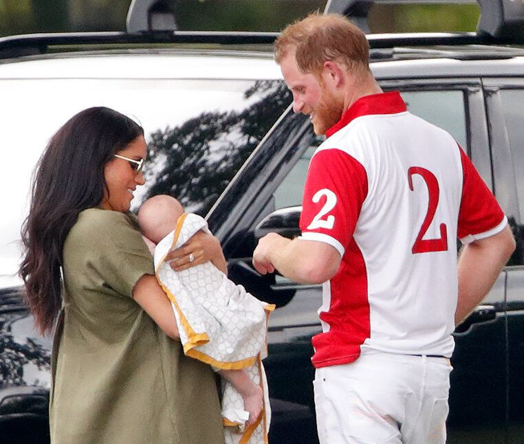 Meghan, Archie and Harry attend the King Power Royal Charity Polo Match, in which Harry was competing for the Khun Vichai Sri