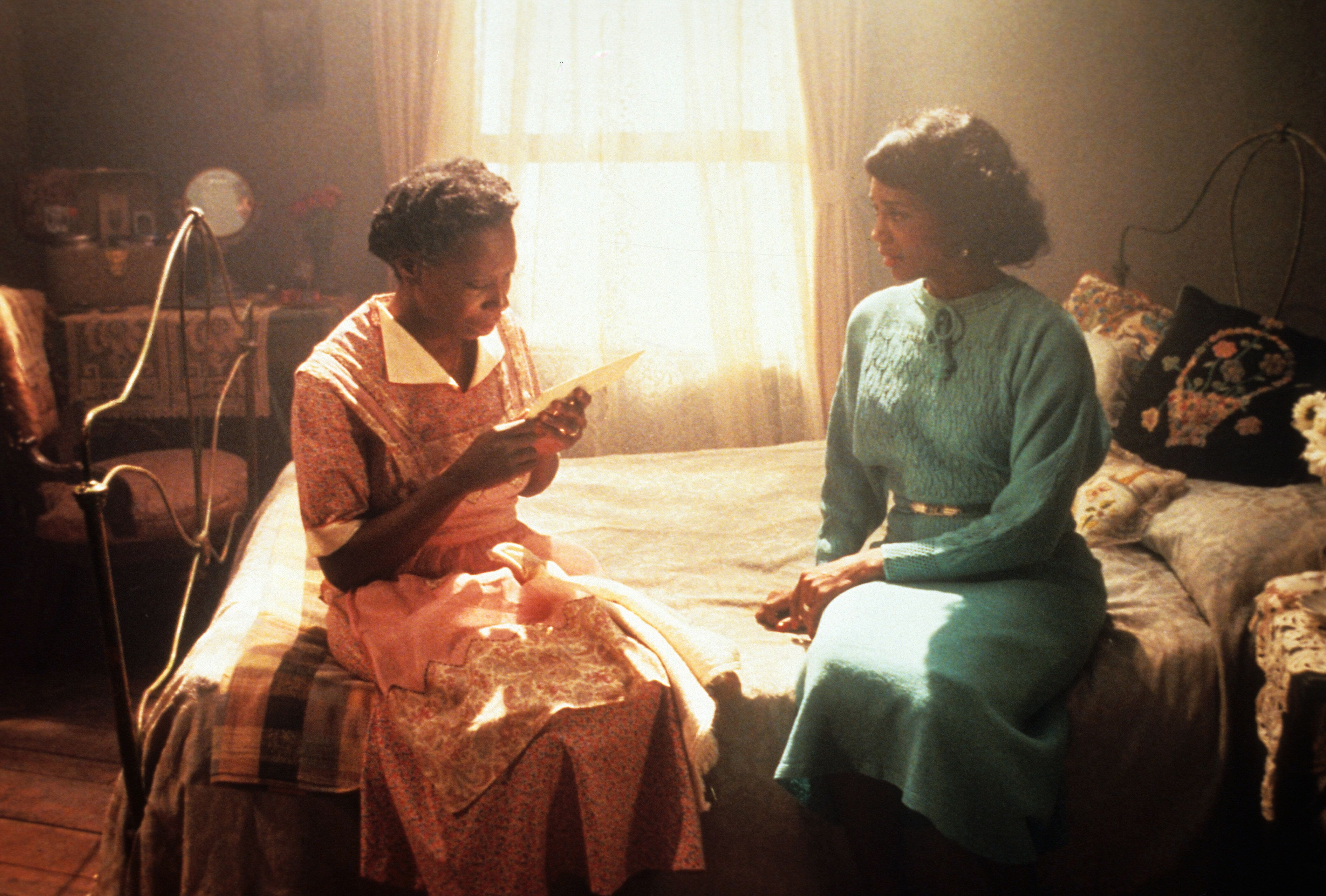 """Whoopi Goldberg and Margaret Avery in """"The Color Purple."""""""