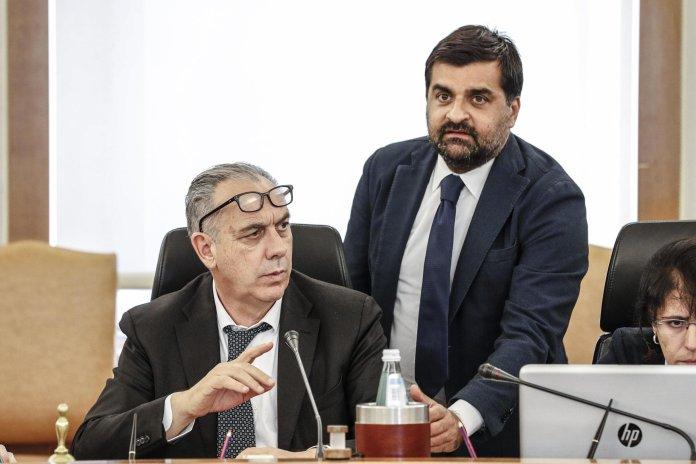 Giovanni Legnini - Luca Palamara ANSA / GIUSEPPE