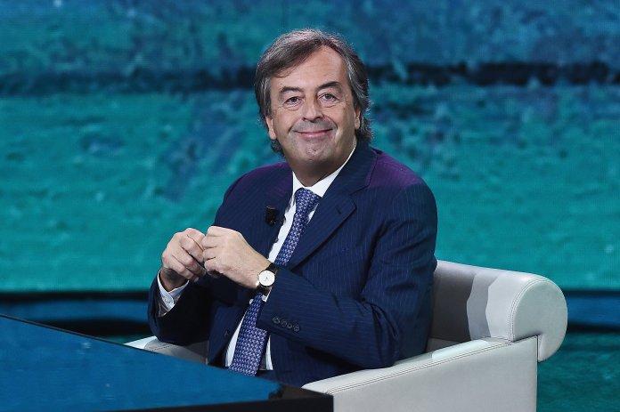 MILAN, ITALY - OCTOBER 07: Roberto Burioni attends