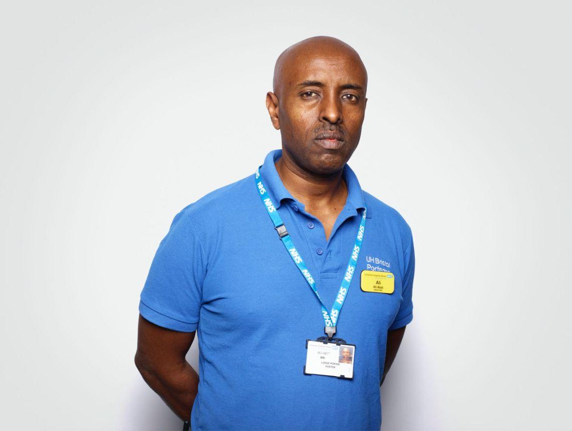 Ali Abdi, Porter, University Hospitals Bristol NHS Foundation Trust
