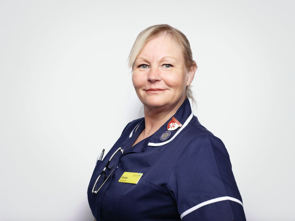 Anne Roberts, District Nurse, Midlands Partnership Foundation Trust