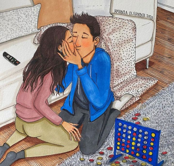 """""""Connect Four Kiss"""""""