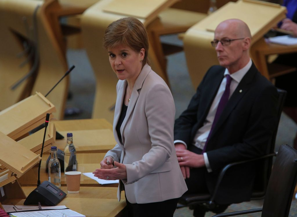 Scottish Government U-Turns Over Students' Grades After Outcry