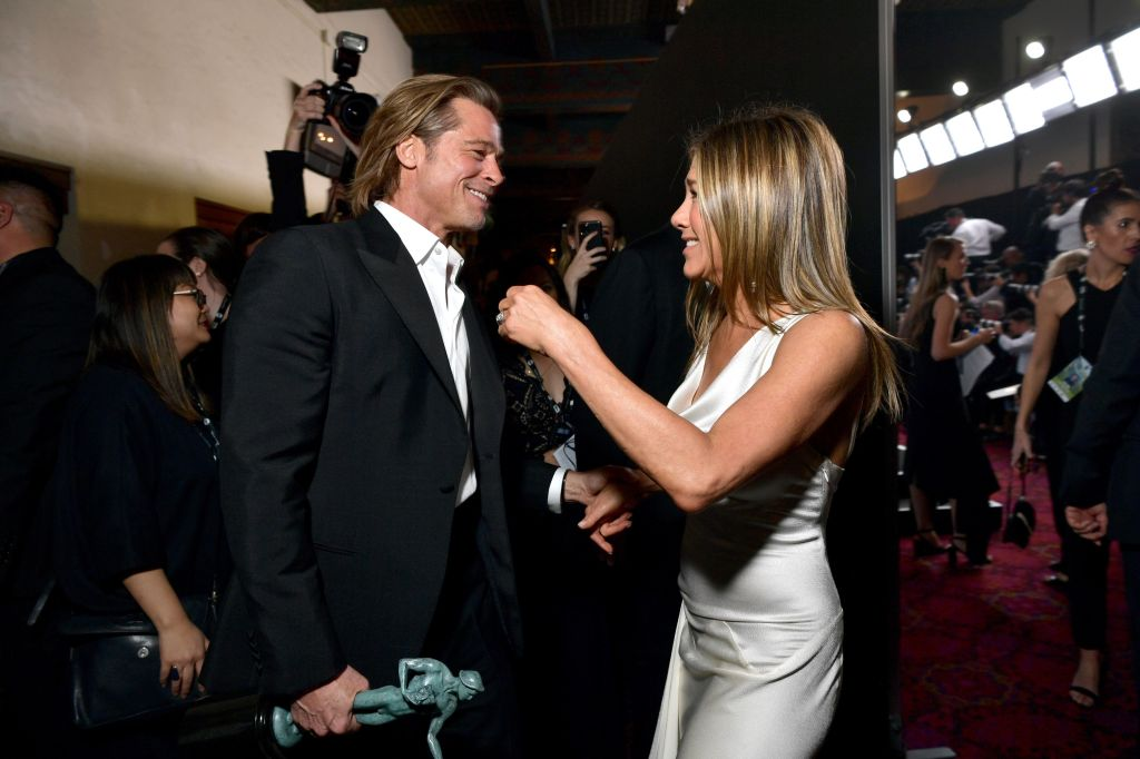 Brad Pitt And Jennifer Aniston Are Reuniting For A Live Table Read