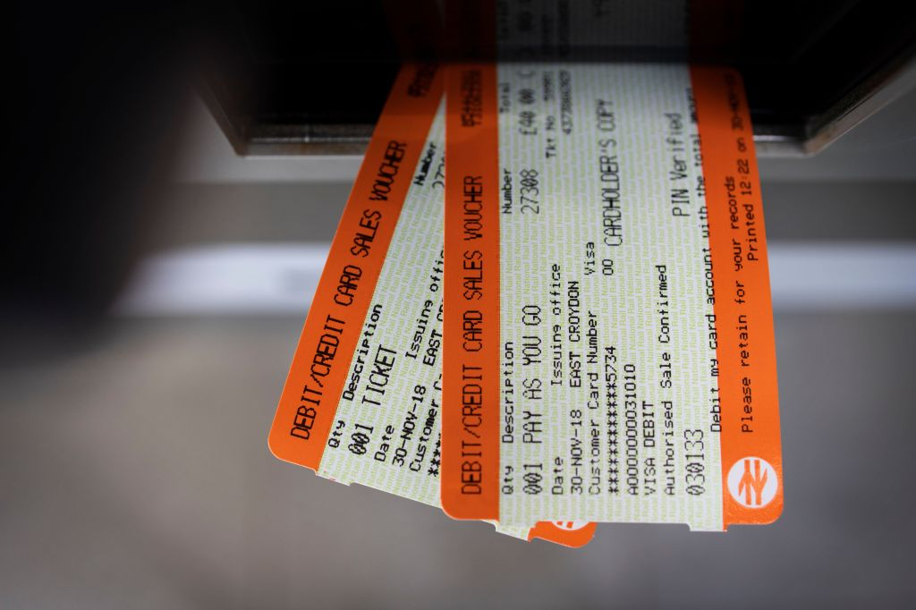 Rail Fares To Increase By 1.6% From January