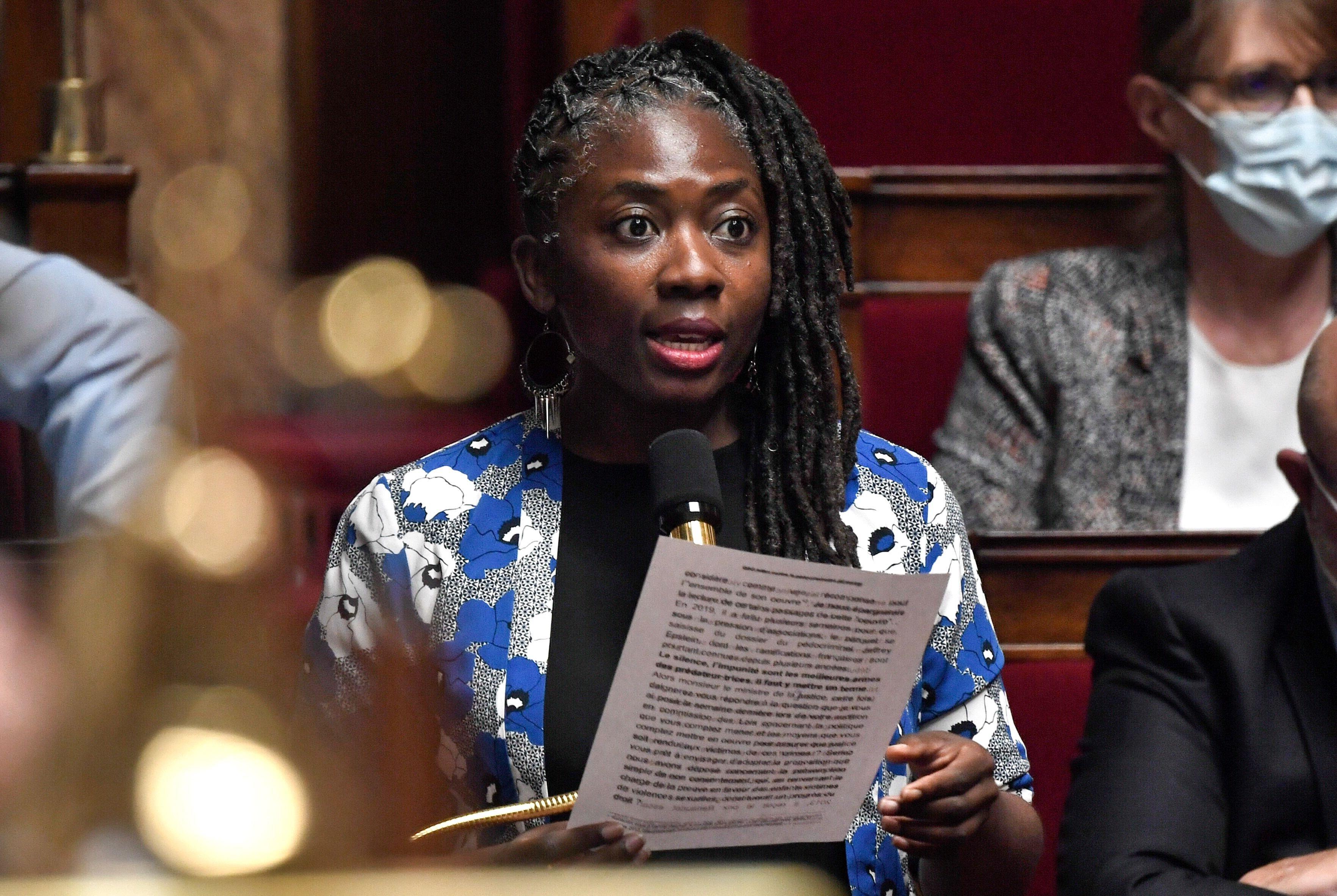 Danièle Obono à l'Assemblée nationale