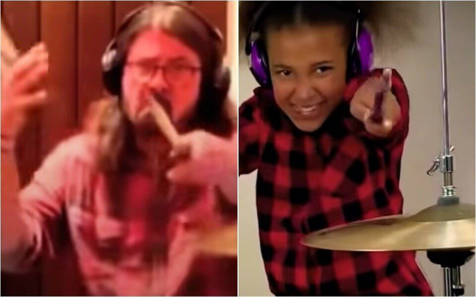 10-Year-Old Won Drum Battle Against Dave Grohl, So He Wrote Her A Superhero Theme Song