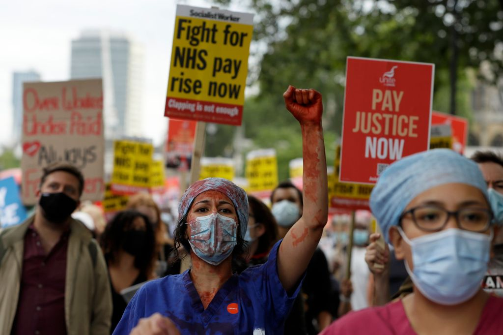 'Stop Clapping, Start Paying': NHS Workers Demand Better Wages
