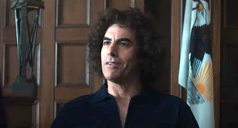 See Sacha Baron Cohen As Abbie Hoffman In 'Trial Of The Chicago 7' Trailer - Leafypage