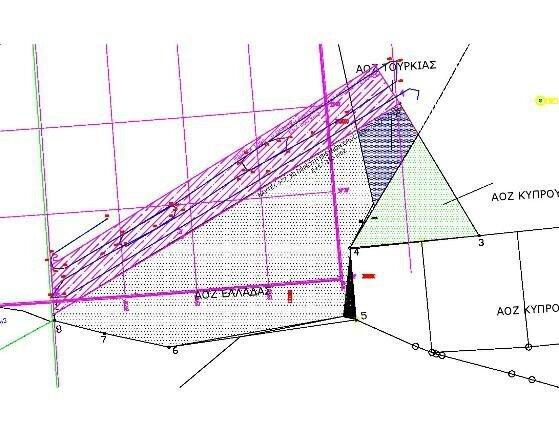 Σχήμα 5: Σεισμικό πρόγραμμα ORUC REIS (μπλε γραμμή) από 27/8/20-1/9/20 εντός της