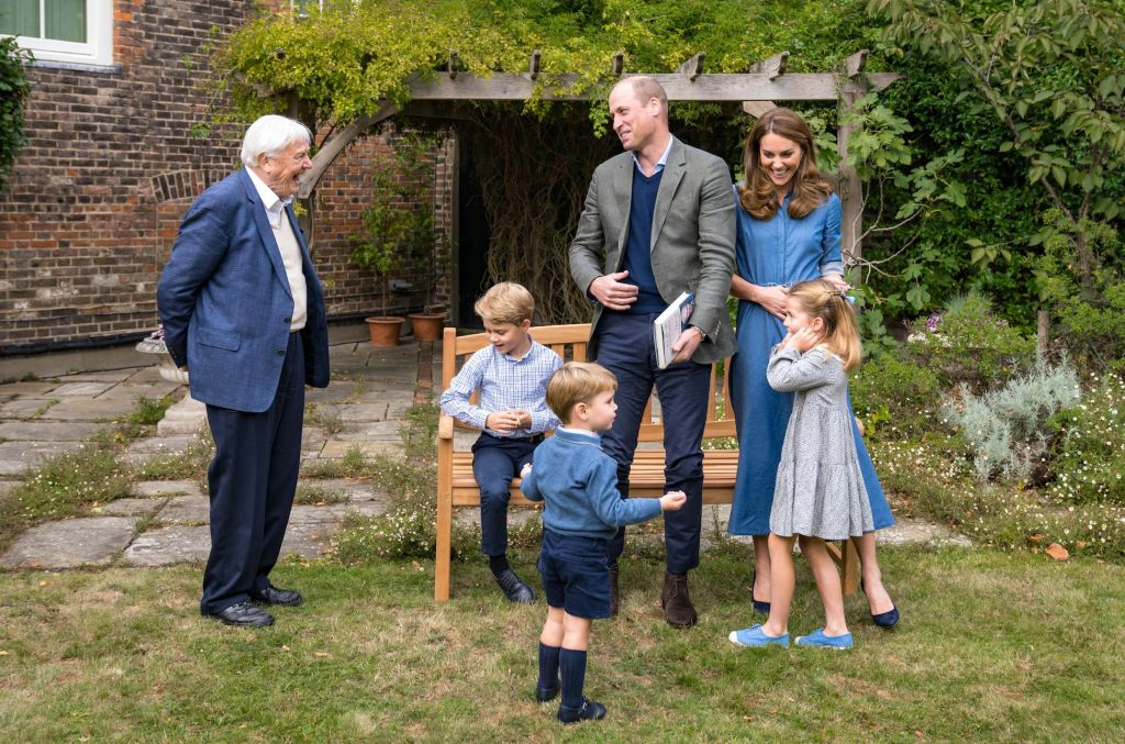Sir David Attenborough Meets With Royals To Share A Very Special Gift