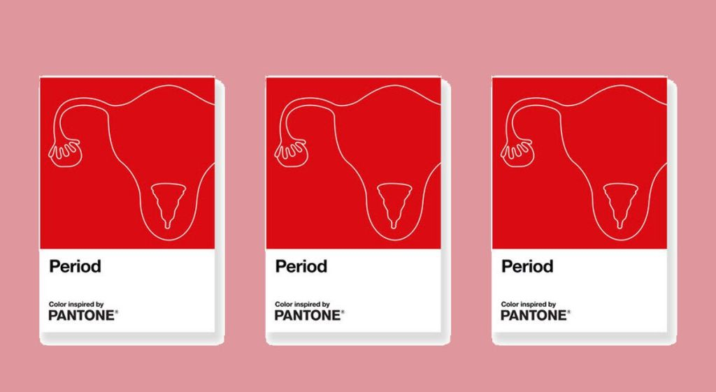Pantone Launches 'Period' Shade To End Menstruation Taboos