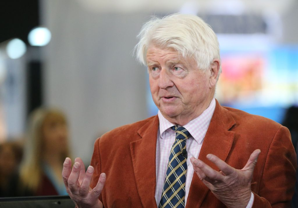 Boris Johnson's Father, Stanley, Pictured Shopping Without Face Covering