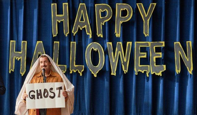 "Adam Sandler in ""Hubie Halloween"" on Netflix."