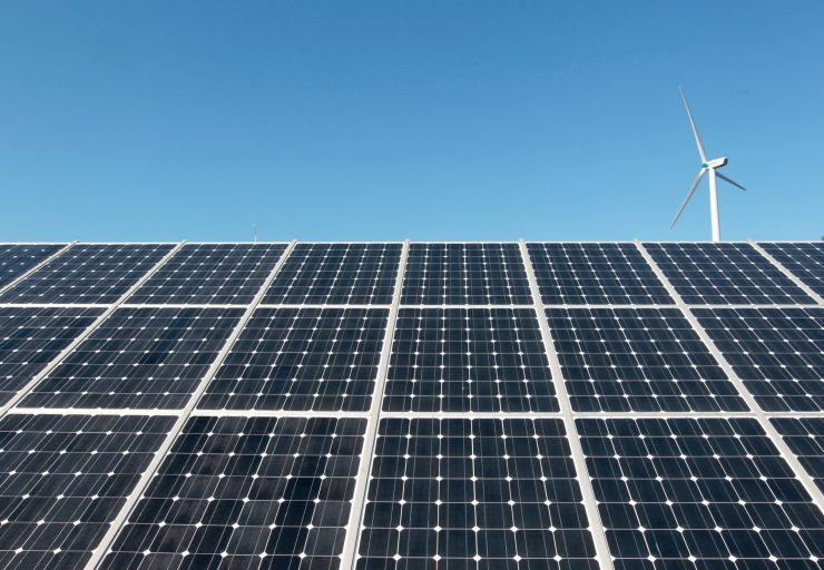 Solar energy is set to dominate new energy production in the next 10 years, with wind close behind.