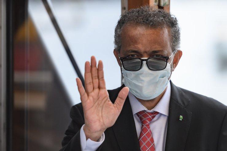 World Health Organization Director-General Tedros Adhanom Ghebreyesus announced plans to self-quarantine after a person who c