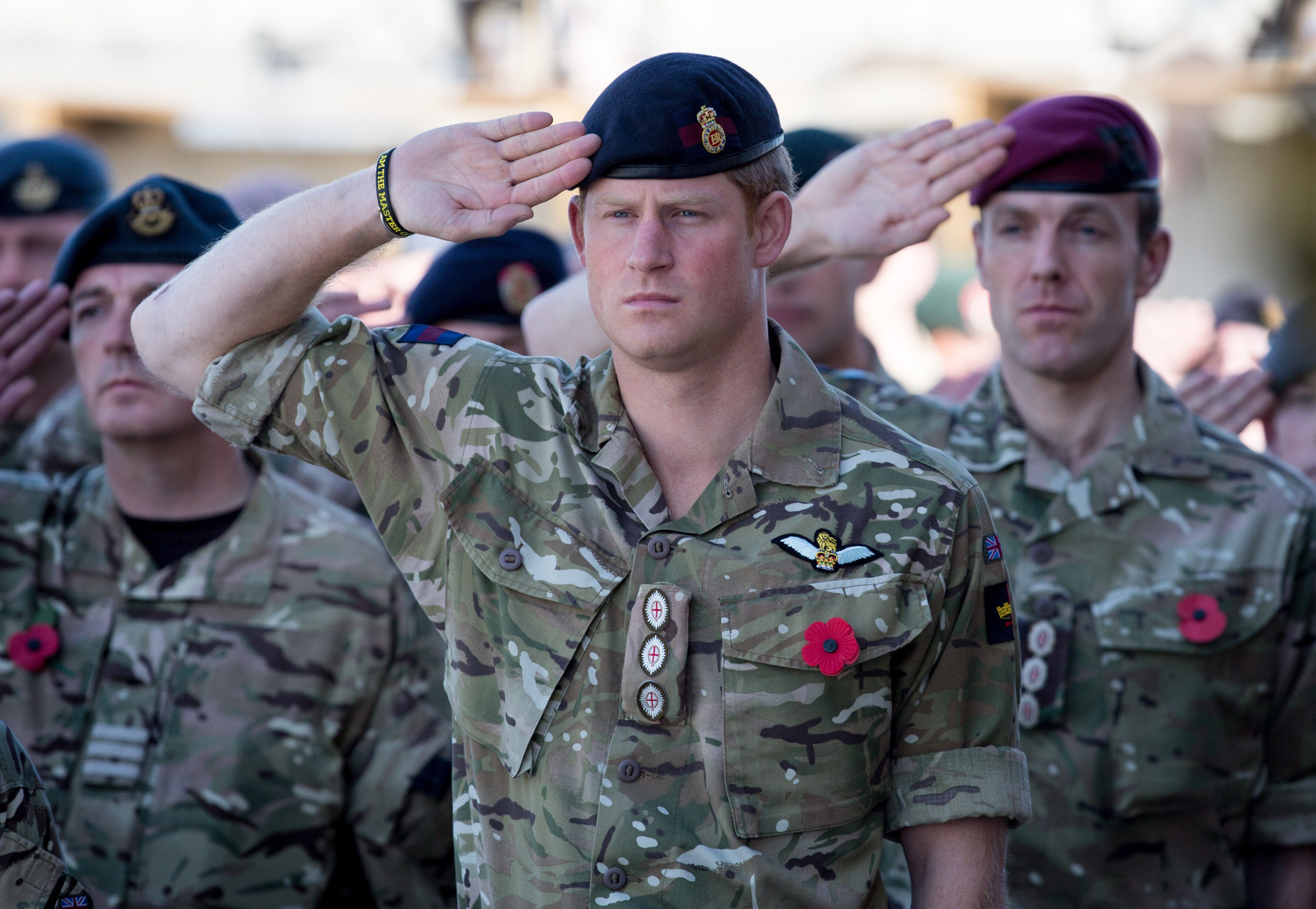 Harry joins British troops and service personnel as well as International Security Assistance Force personnel and civilians a