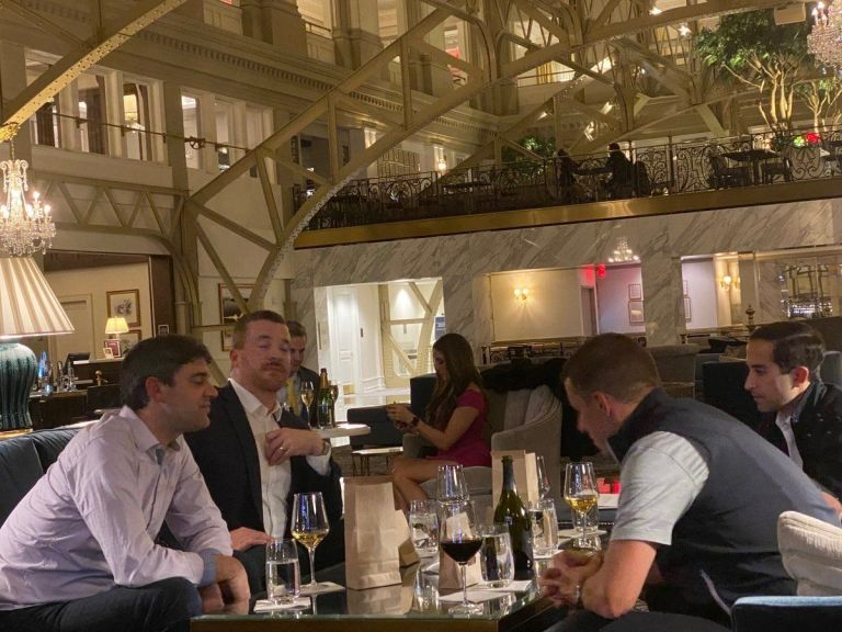 Michiganders Erupt After Their Maskless Lawmakers Sip Dom Perignon At Trump Hotel