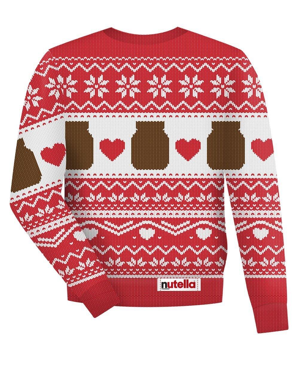Nutella Christmas Jumper