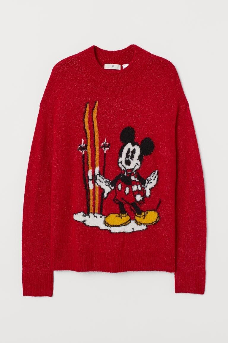 Mickey Ski Jumper