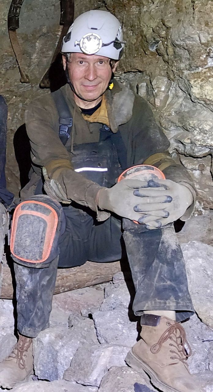 B. Rieck , Dr. Mineralogist and researcher at the University of