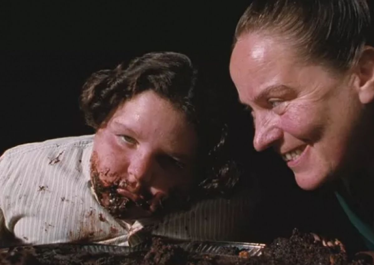 """Jimmy Karz and Pam Ferris, otherwise known as The Trunchbull, in """"Matilda."""""""
