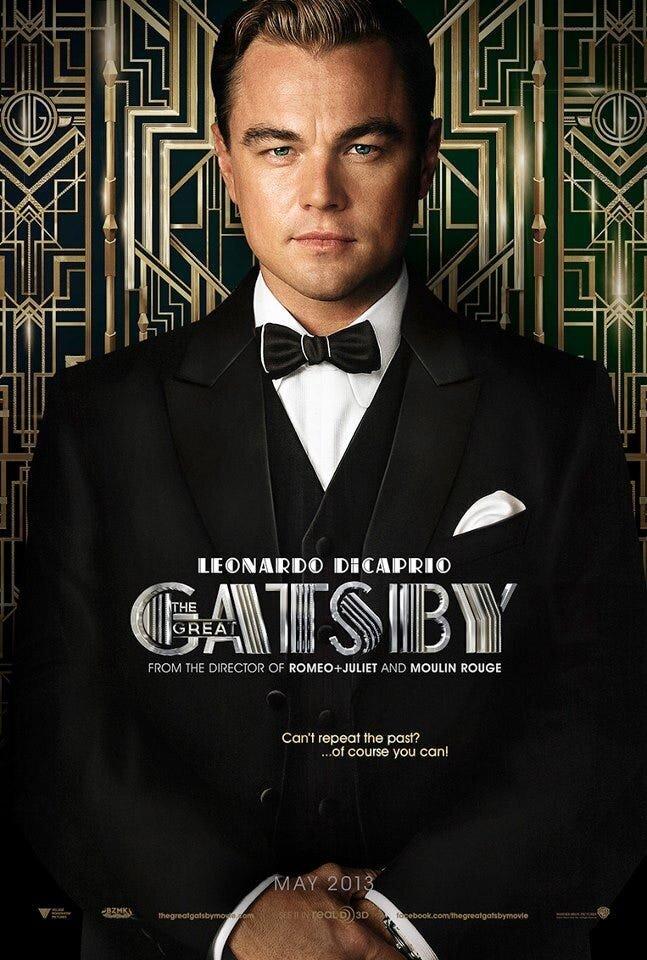 Affiche promotionnelle du film Gatsby le Magnifique