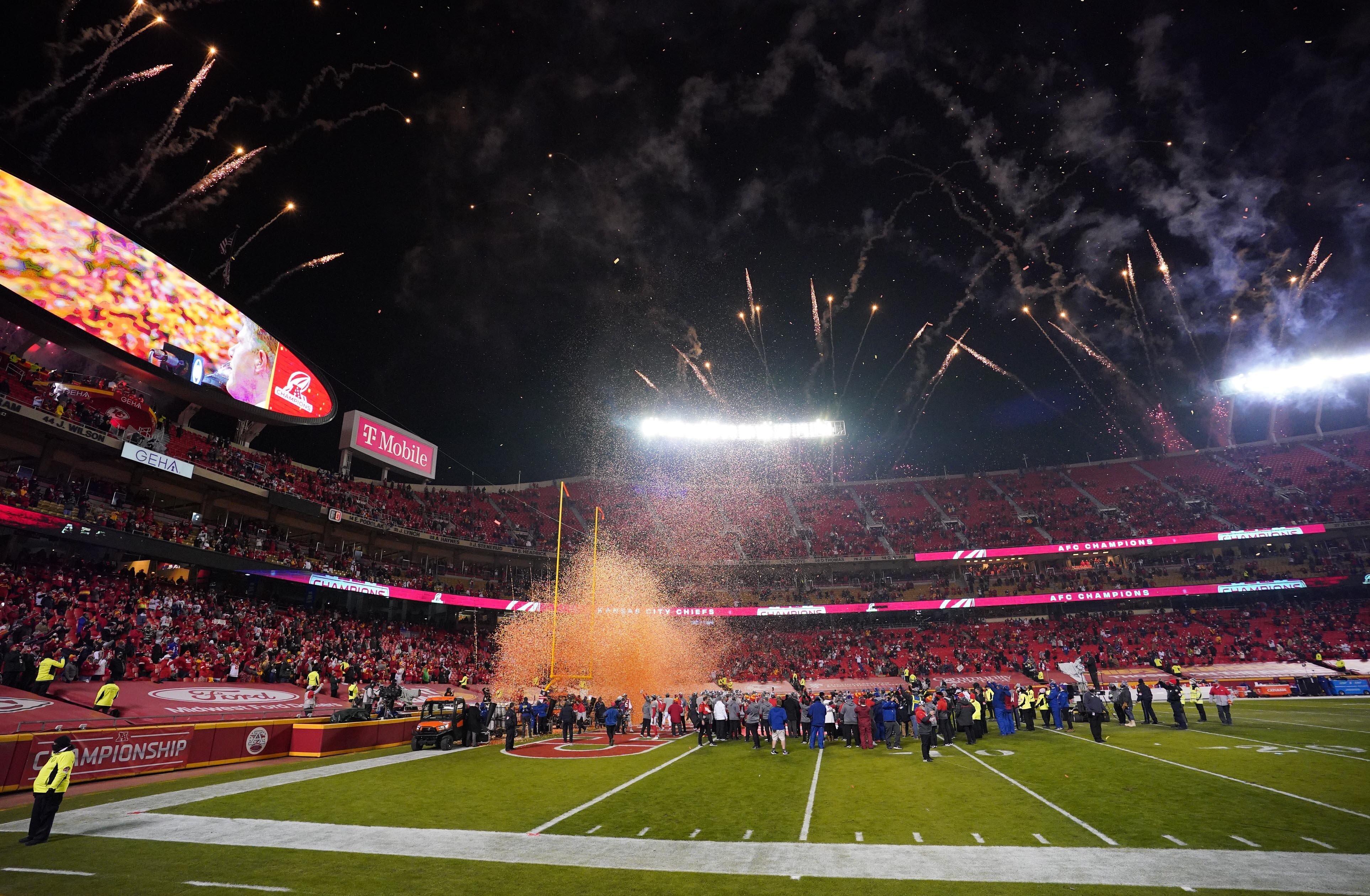 Le 24 janvier dernier, c'est devant moins de 17.000 spectateurs que les Kansas City Chiefs de Patrick...