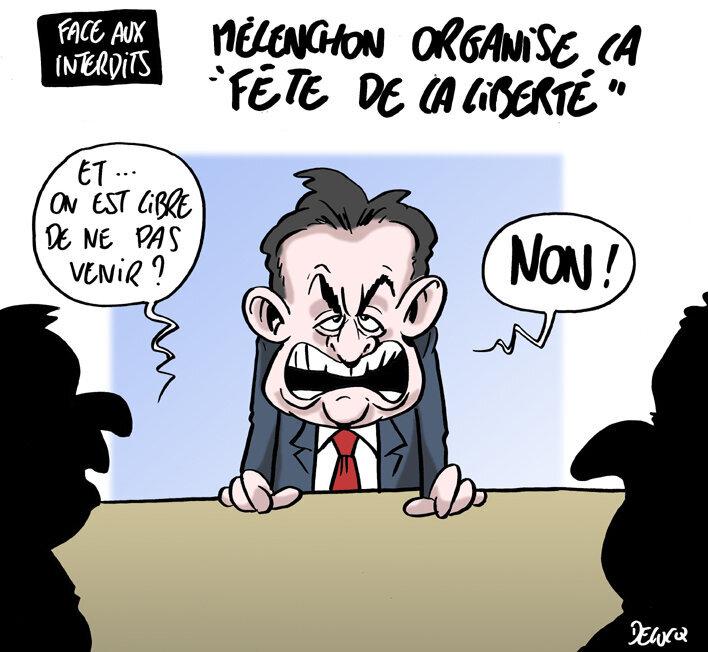 Jean-Luc Mélenchon, ce grand libérateur autoritaire
