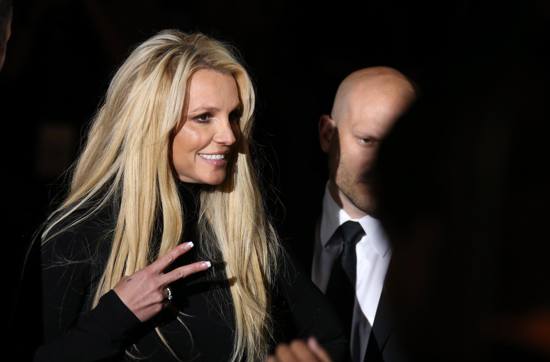 Britney Spears announces her Las Vegas residency in 2018.