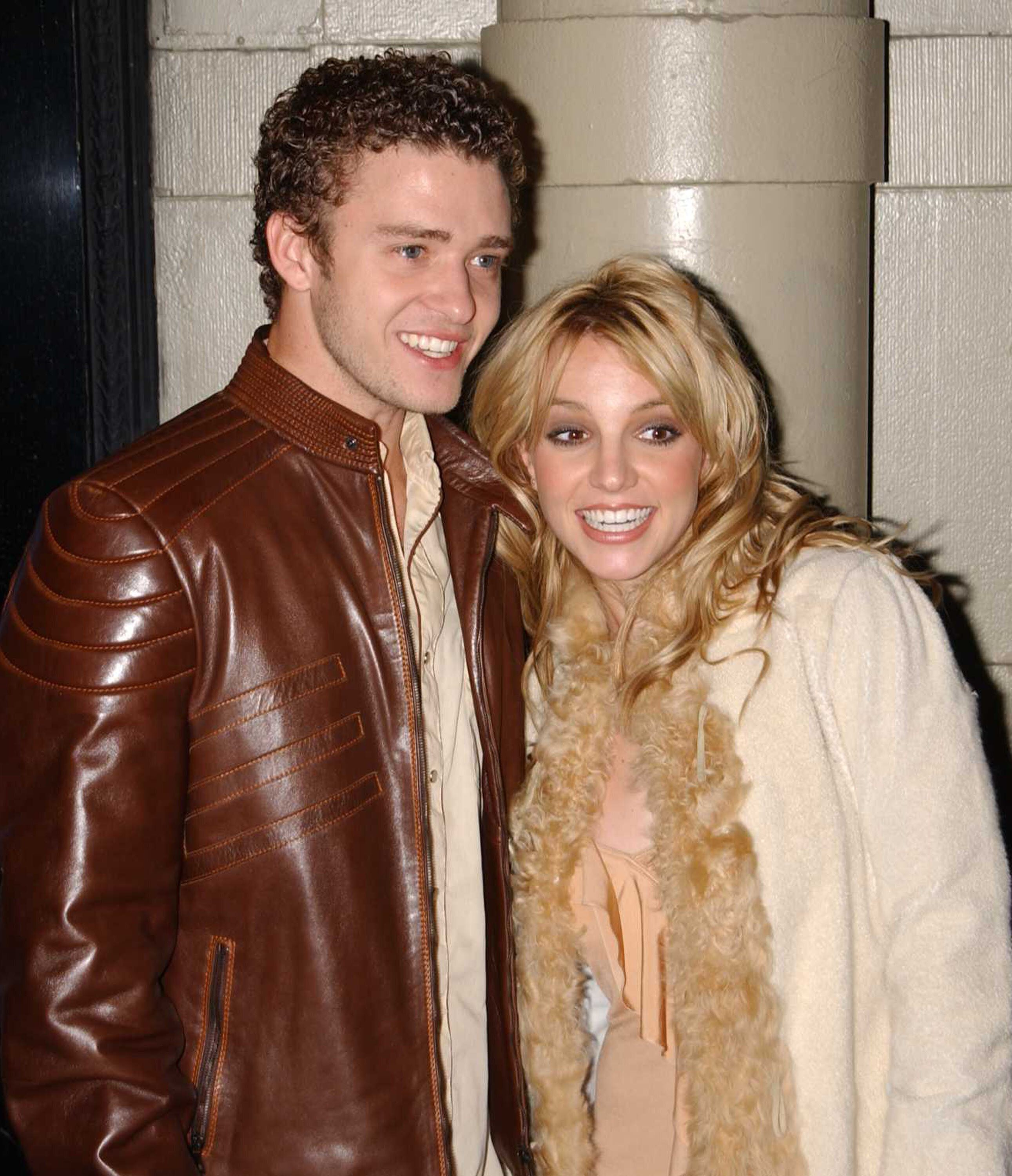 Justin Timberlake and Britney Spears in