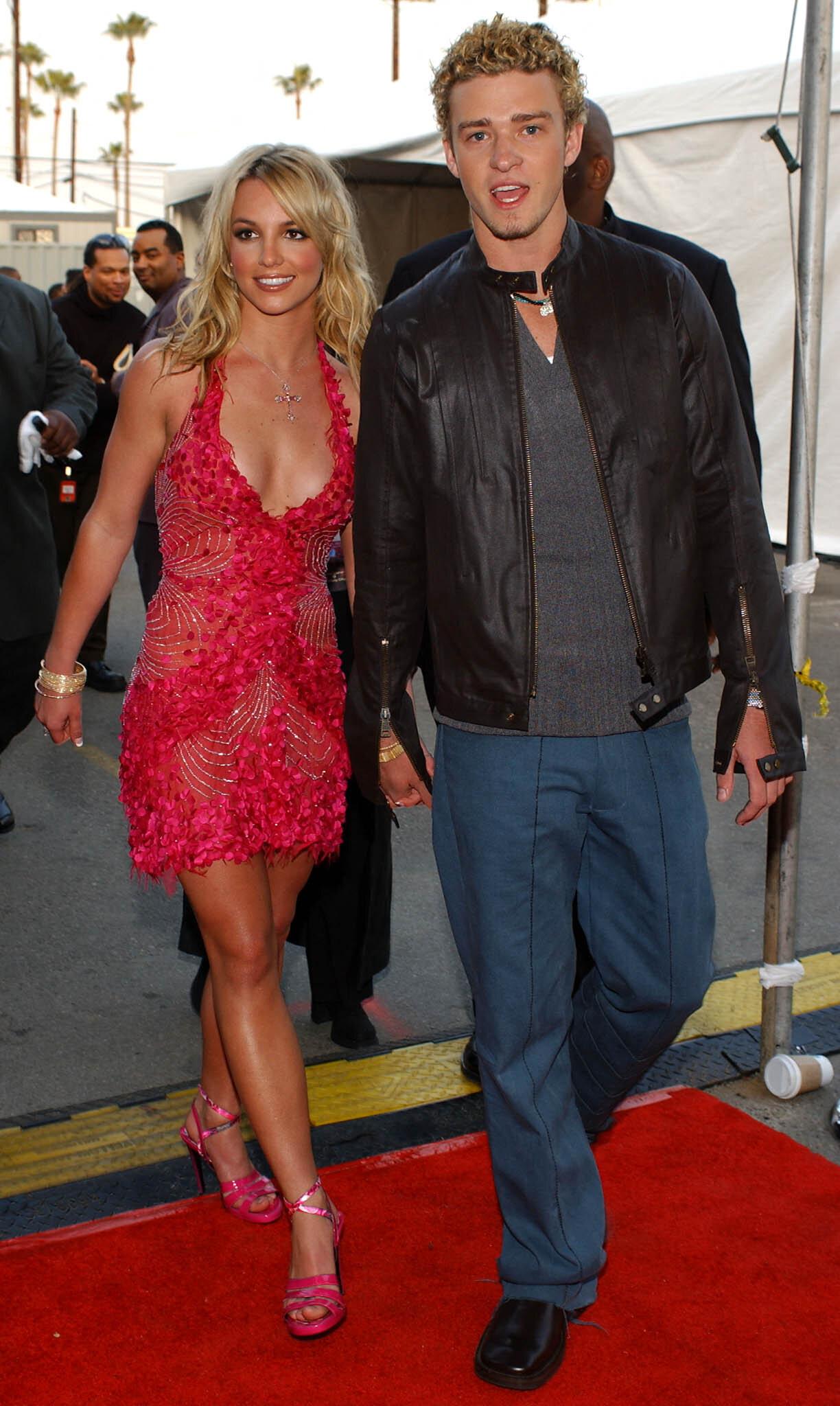 Britney Spears et Justin Timberlake, ici à Los Angeles aux États-Unis, le 8 janvier