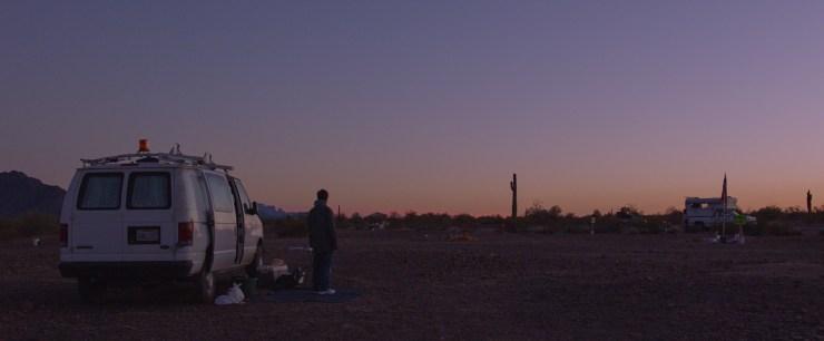 "McDormand in director Chloé Zhao's ""Nomadland."""