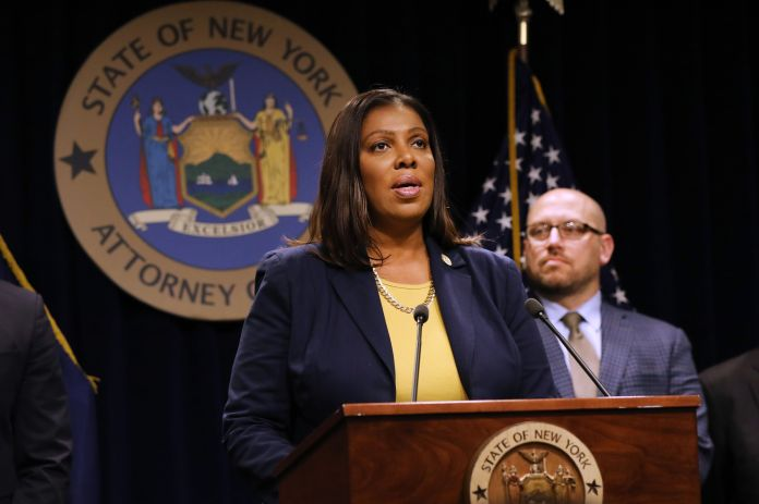 "New York politics watchers are speculating that state Attorney General Letitia ""Tish"" James, whose January report kicked off"