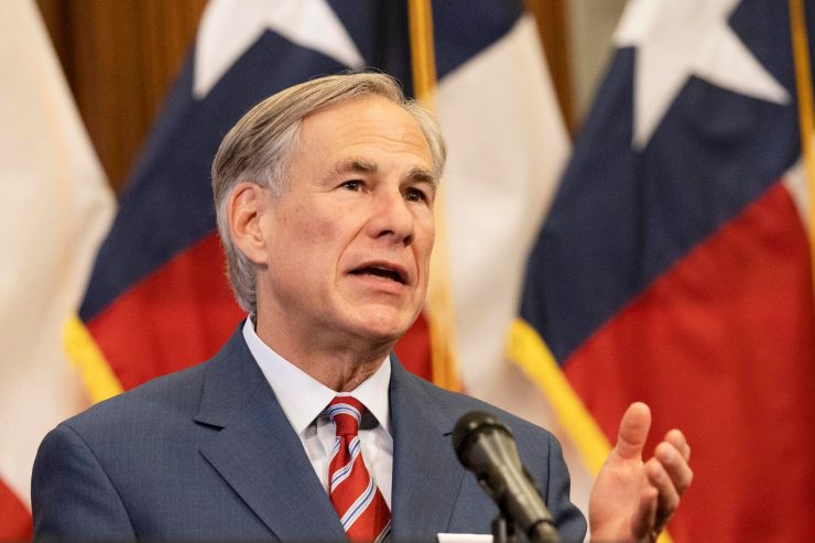 Texas Gov. Greg Abbott announces an earlier reopening of more Texas businesses amid the COVID-19 pandemic during a press conf