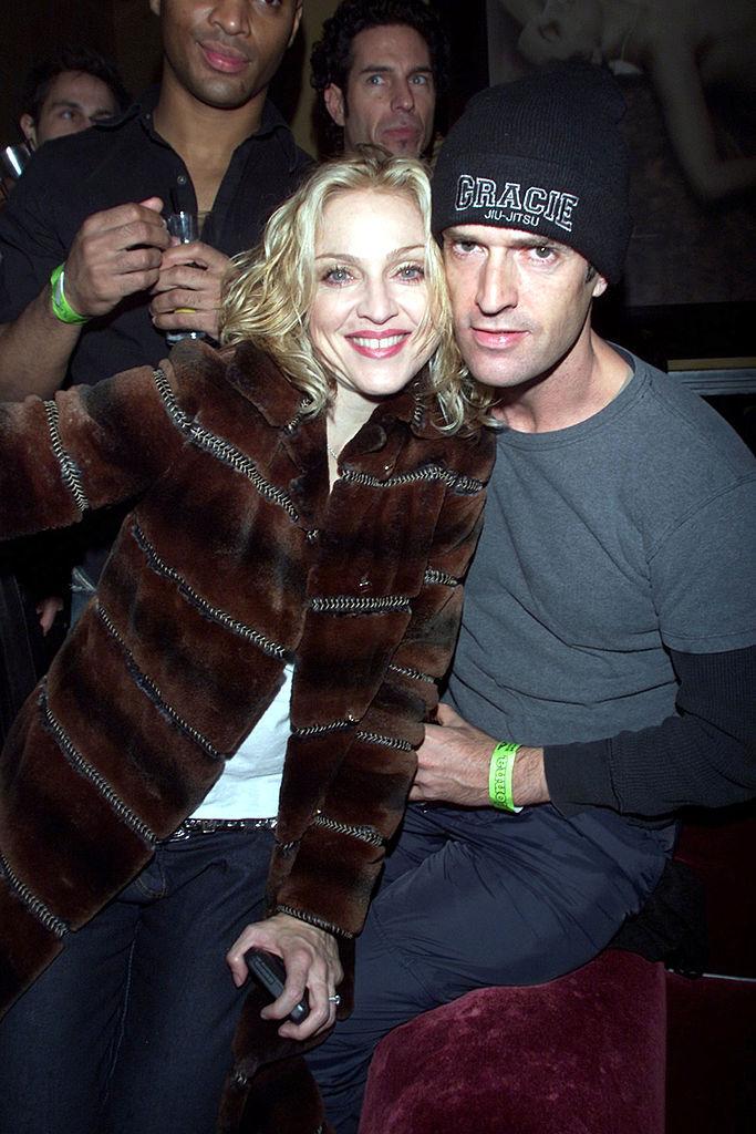 Madonna and Rupert