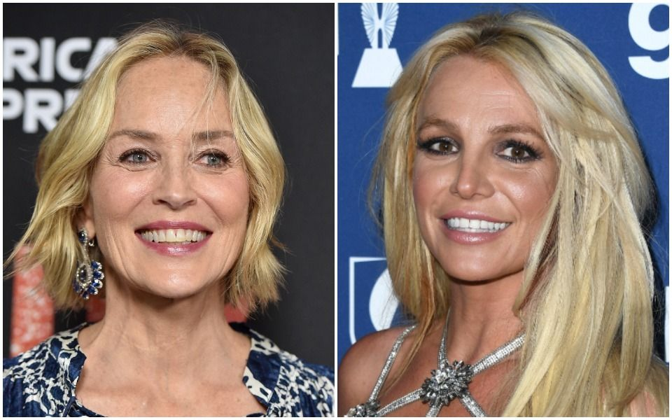 Sharon Stone and Britney