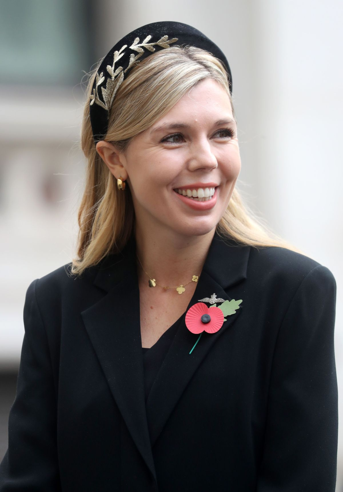 Carrie Symonds, partner of Britain's Prime Minister Boris Johnson,was appointed head of communications...