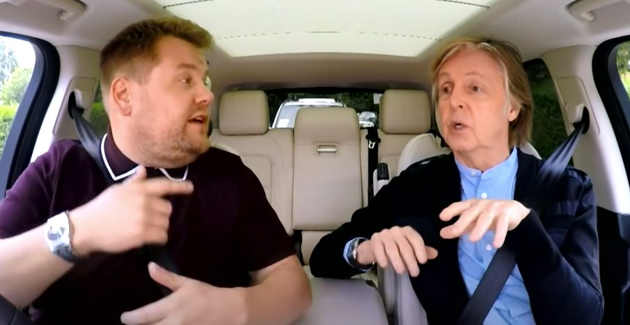 Paul McCartney on Carpool