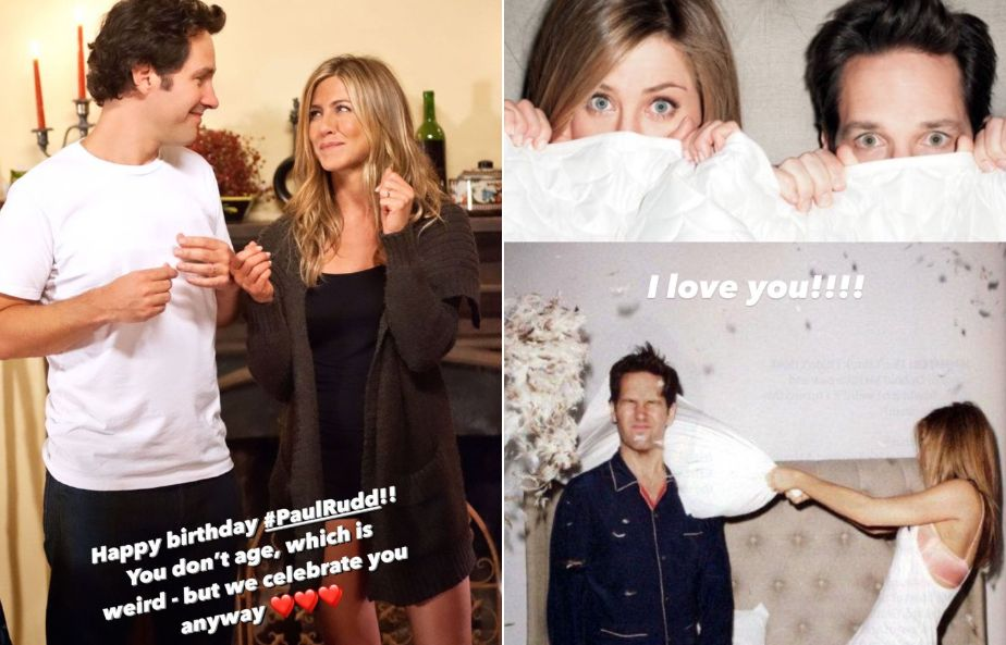 Jennifer Aniston paid tribute to her friend and former co-star on