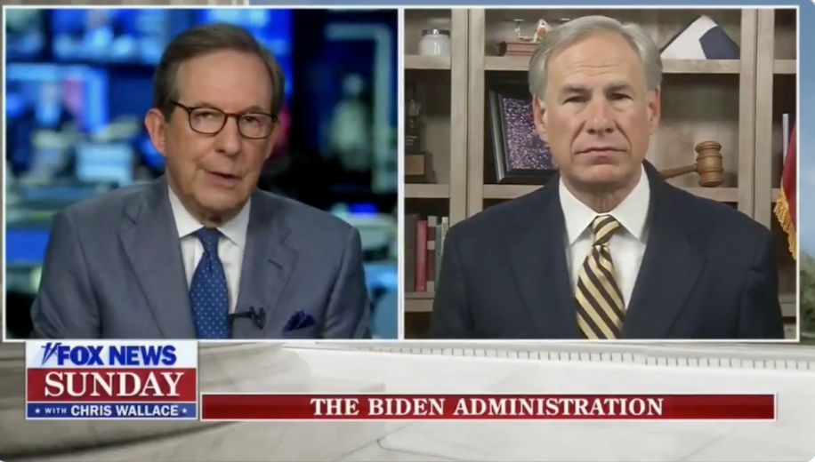 Chris Wallace Calls Out GOP Governor's Silence On Migrant ...