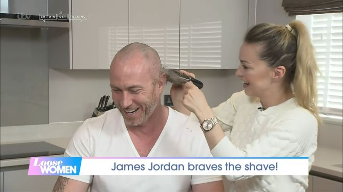 Ola shaved her husband's head live on Loose