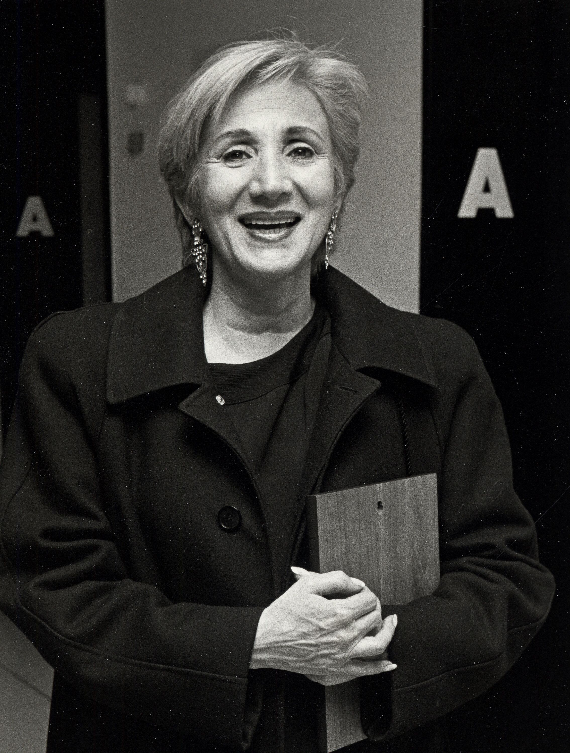 Olympia Dukakis during The 1988 D.W. Griffith Awards at Lincoln Center Library in New York City, New York, United States. (Ph